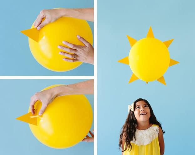 59 como fazer fantasia de sol improvisada e facil
