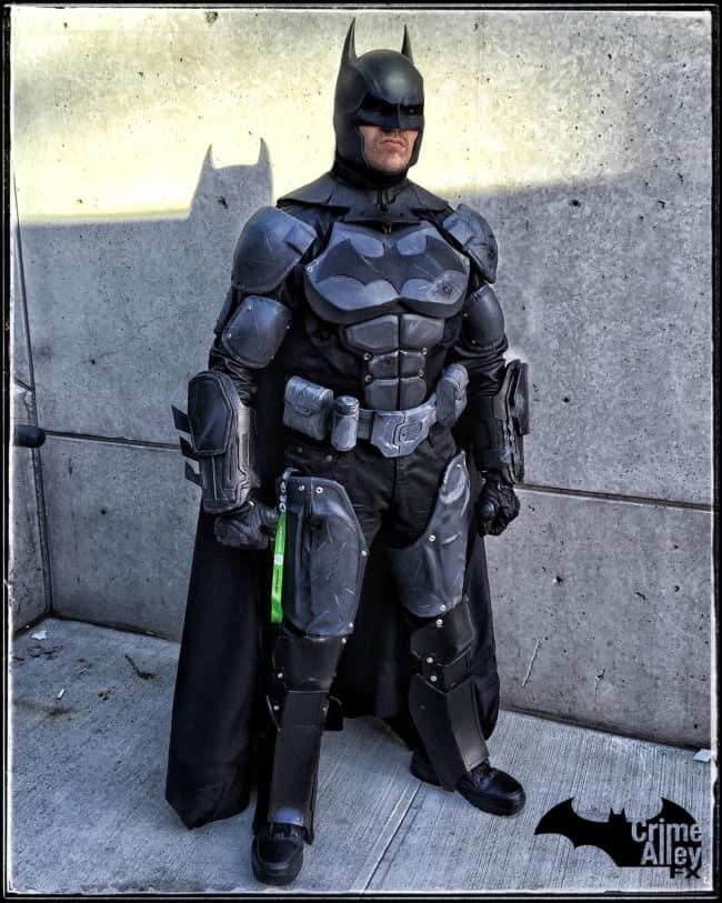 Batman esta sempre presente nos eventos de cosplay