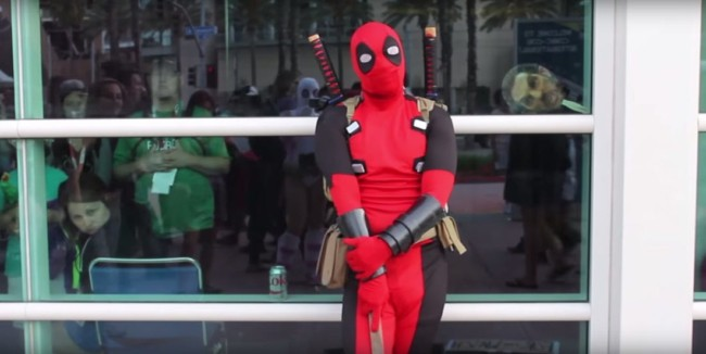 D Pitty faz o personagem Deadpool