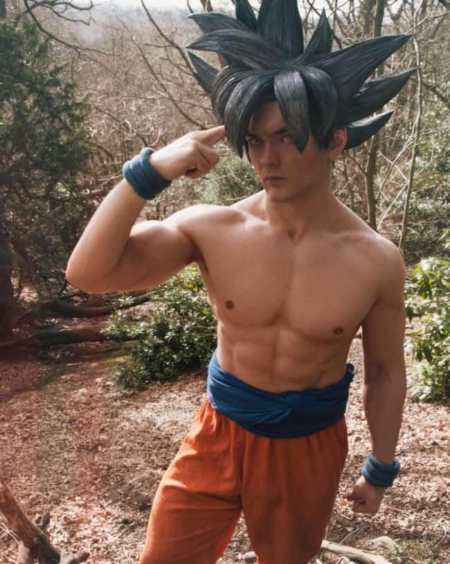 Modelo do personagem Goku