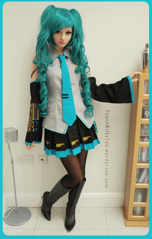 Outro modelo da personagem Hatsune Miku