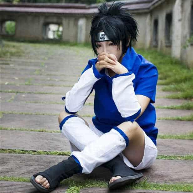 Personagem de manga Sasuke
