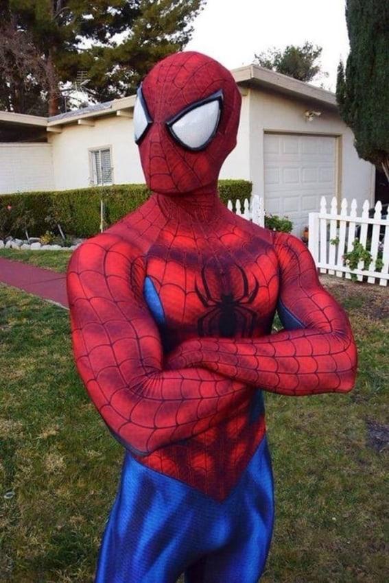 Personagem homem aranha