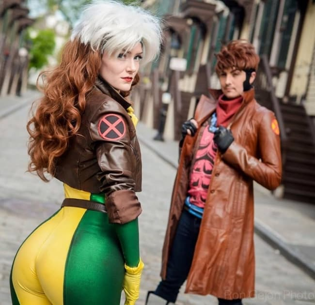 Personagens Gambit e Vampira X Men