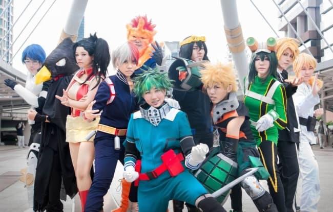 Personagens de Boku no Hero