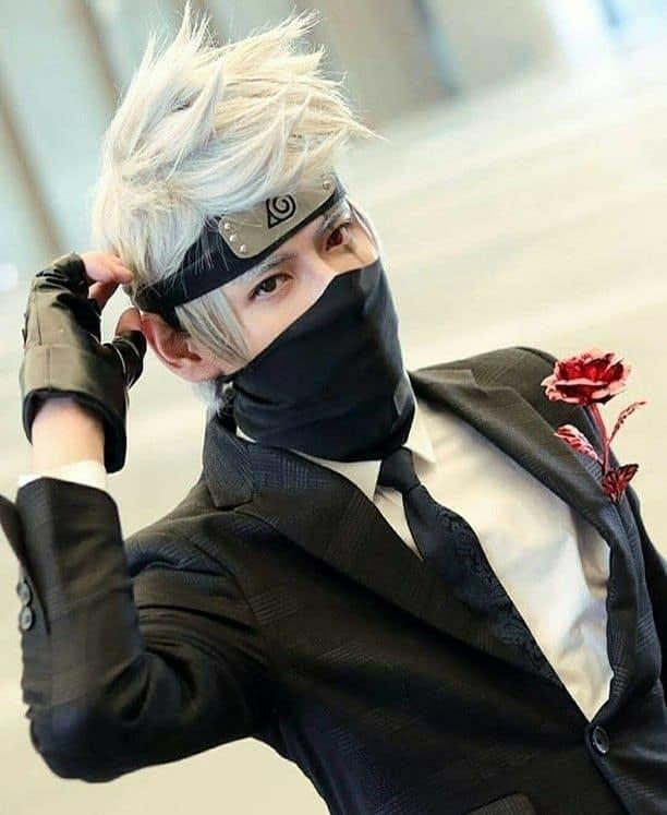 Veja esse modelo do personagem Kakashi