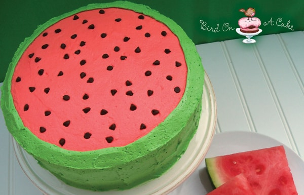 bolo simples de melancia