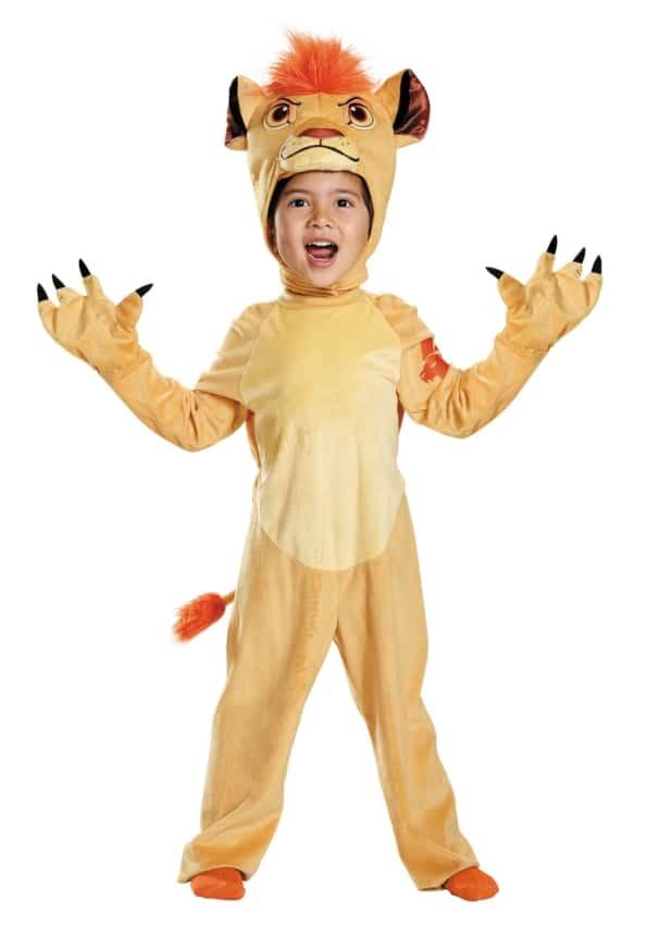 A roupa inspirada em O Rei Leao e perfeita para varias festas