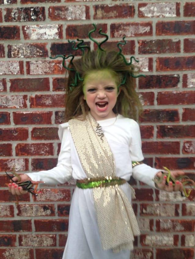 Os pequenos vao adorar representar a Medusa