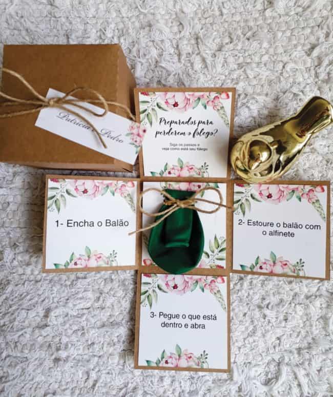 Use sua criatividade para surpreender os padrinhos do seu casamento