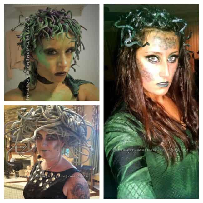 fantasia de Medusa como fazer passo a passo