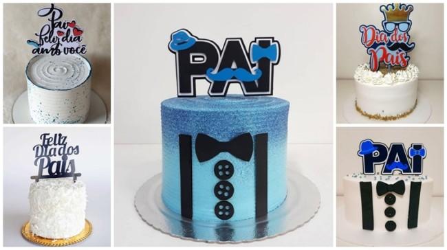 topo de bolo dia dos pais