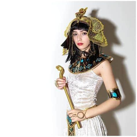 fantasia de rainha do egito Cleoprata