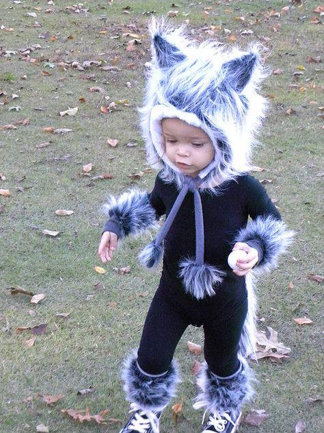 fantasia de lobo infantil com macacao