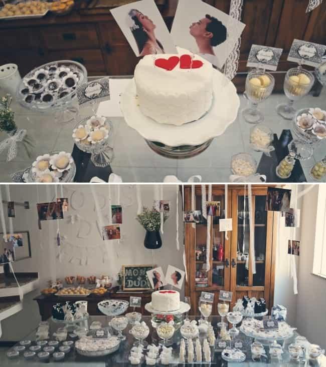 bolo bodas de papel com fotos