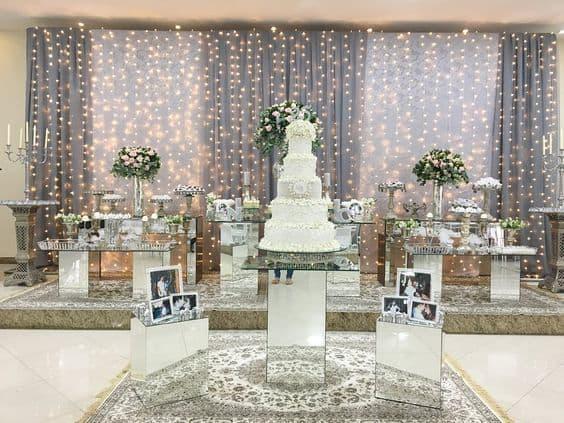 decoracao de festa de 20 anos de casamento