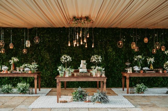 decoracao moderna para festa de 20 anos de casamento