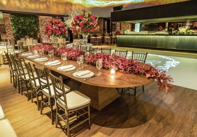 festa de luxo para bodas de casamento de 20 anos