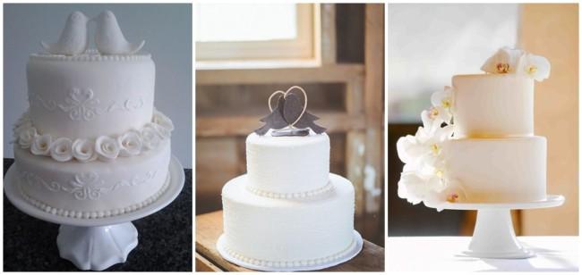 modelos de bolos de 2 andares para bodas de porcelana