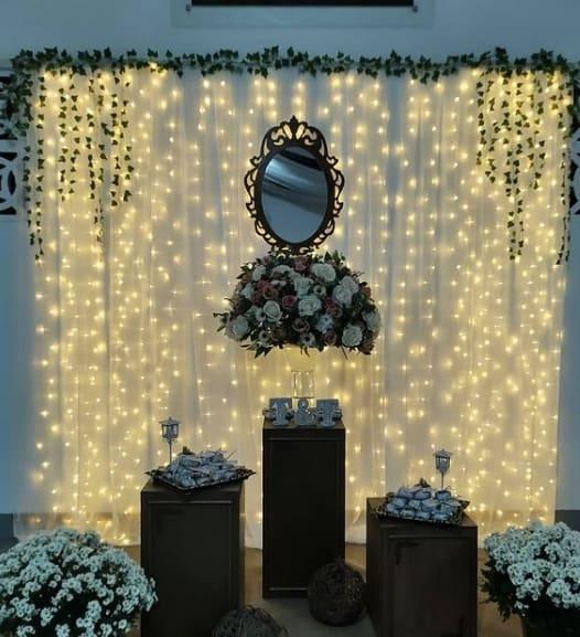 decoracao simples para festa de 20 de casamento