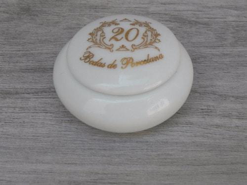 porta joias para lembrancinha de bodas de porcelana