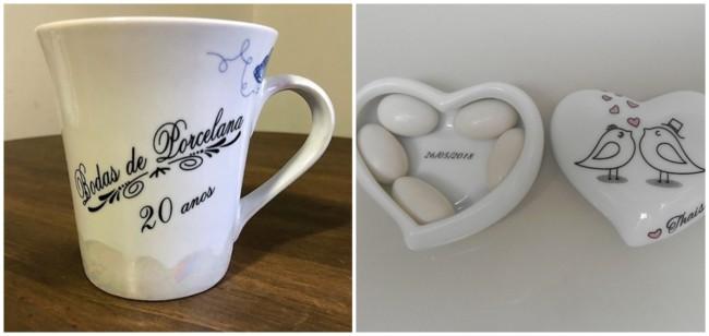 ideias de lembrancinhas para bodas de porcelana