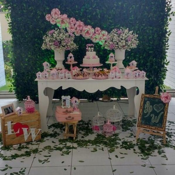 decoracao simples para festa de 20 anos de casamento